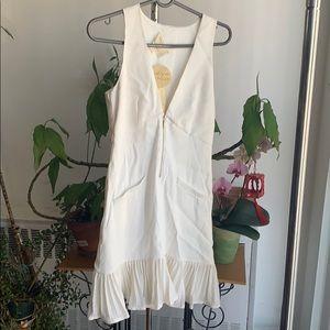 NWT Nicole Miller artelier boutique white dress